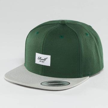 Reell Jeans Snapback Cap Pitchout 6 Panel grün