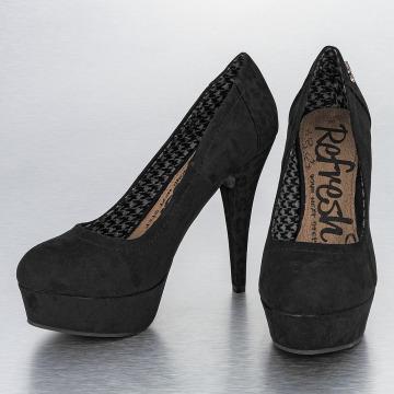 Refresh Chaussures à talon Leo Pumps noir