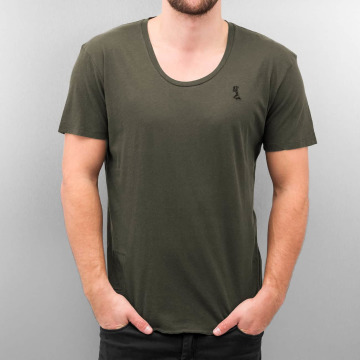 Religion t-shirt Plain grijs