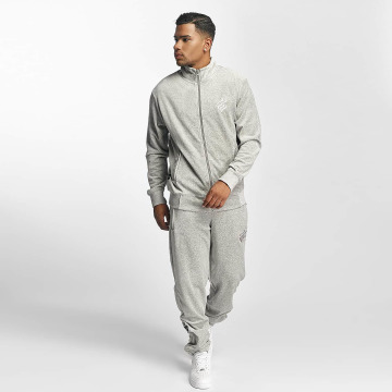 Rocawear Anzug Retro Basic Velour Set grau