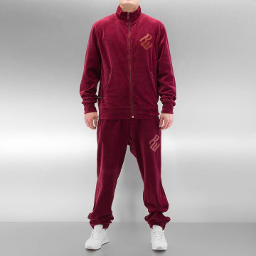 Rocawear Anzug Velour rot