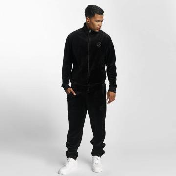 Rocawear Anzug Retro Basic Velour Set schwarz