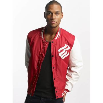 Rocawear Baseball jack College Jacket rood
