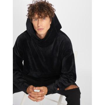 Rocawear Bluzy z kapturem Velour Samt czarny
