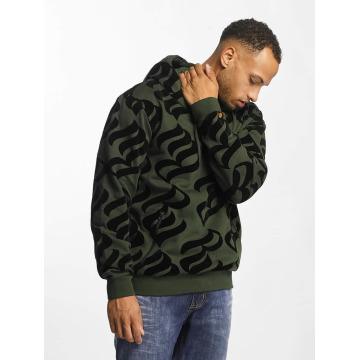 Rocawear Bluzy z kapturem Retro Velour oliwkowy