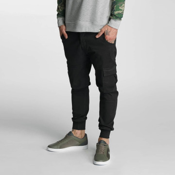 Rocawear Cargohose Jogger Fit schwarz