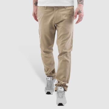 Rocawear Chinot/Kangashousut Slim Fit beige