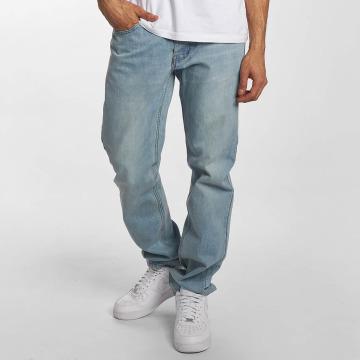 Rocawear Dżinsy straight fit Moletro Leather Patch niebieski
