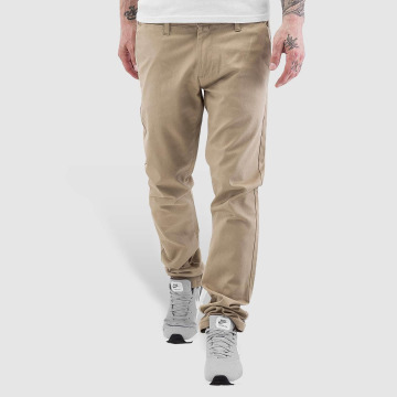 Rocawear Pantalon chino Slim Fit beige