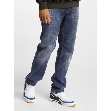 Rocawear Straight Fit Jeans Relax modrý