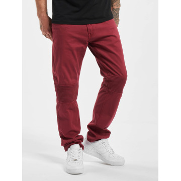 Rocawear Straight fit jeans Quilted rood