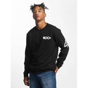 Rocawear Swetry Retro Sport Crew Neck czarny