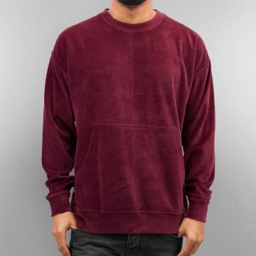 Rocawear Swetry Velour Samt czerwony