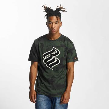 Rocawear T-paidat Retro Army oliivi