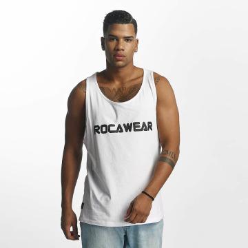 Rocawear Tank Tops Color Block weiß
