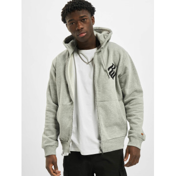 Rocawear Zip Hoodie Brand серый