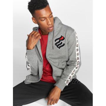 Rocawear Zip Hoodie Stripe серый