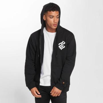 Rocawear Zip Hoodie Brand черный