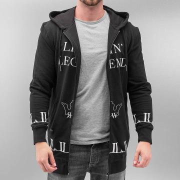 Rocawear Zip Hoodie Legend schwarz