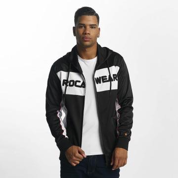 Rocawear Zip Hoodie Sports schwarz