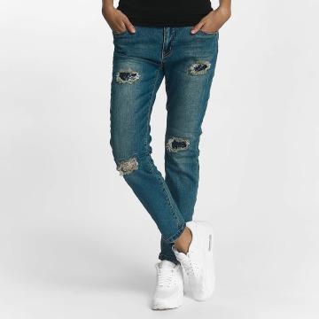 Rock Angel Jeans straight fit Charlotta blu