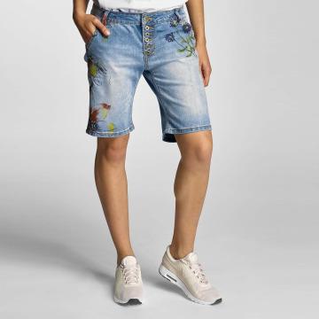 Rock Angel shorts Alva Flowers blauw