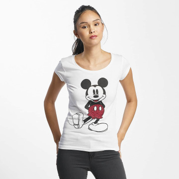 Rock Angel T-shirt Mickey Mouse bianco