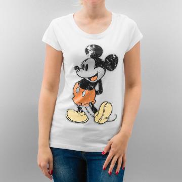 Rock Angel T-Shirt Mickey blanc