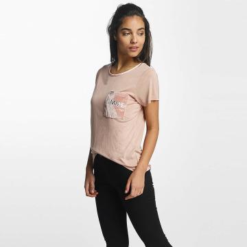 Rock Angel T-shirt Juliana Velvet Femme rosa chiaro