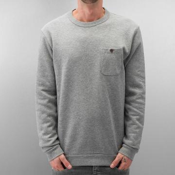 Selected Jumper Delik grey