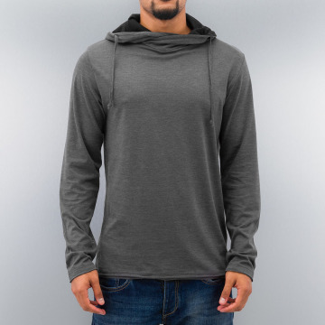 Selected Sweat & Pull London High Neck gris
