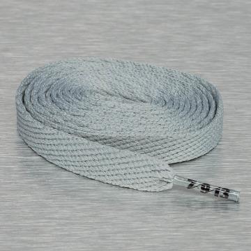 Seven Nine 13 шнурки Hard Candy Flat серый