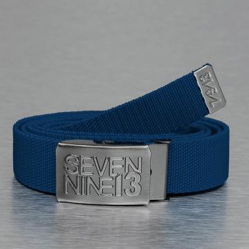 Seven Nine 13 Belts Jaws Stretc blå