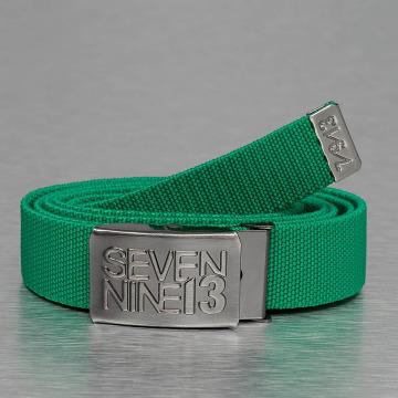 Seven Nine 13 Belts Jaws Stretch grøn