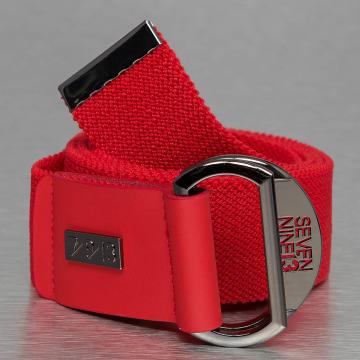 Seven Nine 13 Cintura Looper Stretch rosso