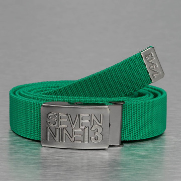Seven Nine 13 Cinturón Jaws Stretch verde