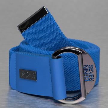 Seven Nine 13 Gürtel Looper Stretch blau