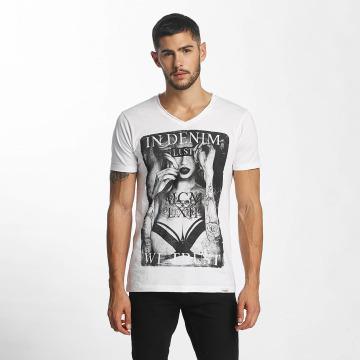 SHINE Original Camiseta Print blanco