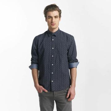 SHINE Original Chemise Fletcher Broken Star Printed Shirt bleu