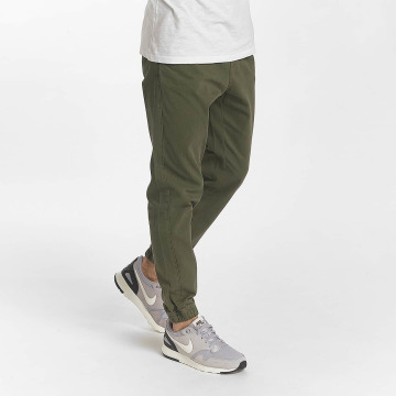 SHINE Original Chino pants Drop Crotch olive