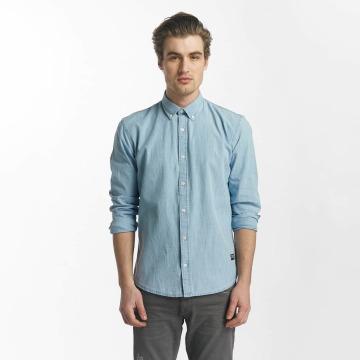 SHINE Original Hemd Original Julius Chambray blau