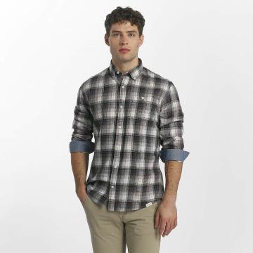 SHINE Original Hemd Fernando Grunge Check grau