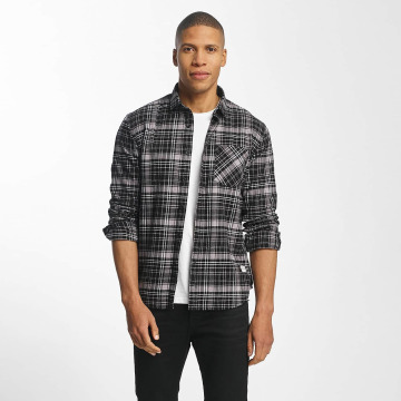 SHINE Original Hemd Luis Checked schwarz