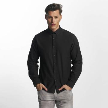 SHINE Original Hemd Oxford schwarz