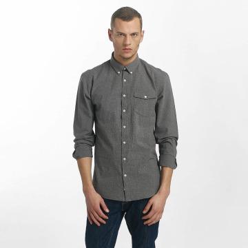 SHINE Original overhemd Cotton Mélange Otto Line zwart
