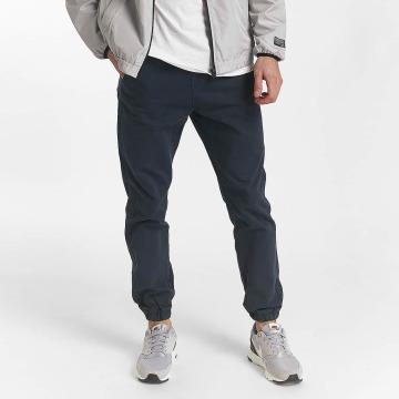 SHINE Original Pantalon chino Drop Crotch bleu