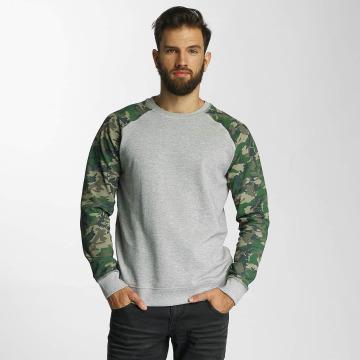 SHINE Original Pullover Zane Printed grau