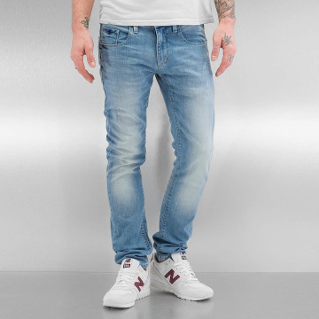 SHINE Original Skinny jeans Woody Slim Fit blauw