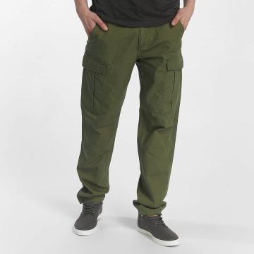 SHINE Original Spodnie Chino/Cargo Worker zielony