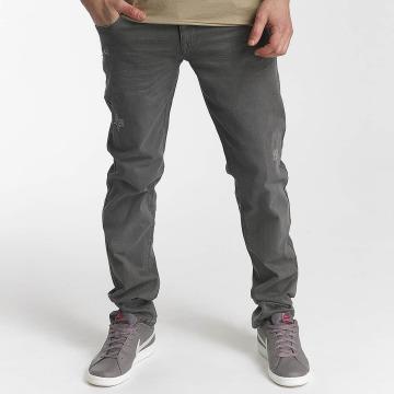 SHINE Original Straight Fit Jeans Wyatt grau